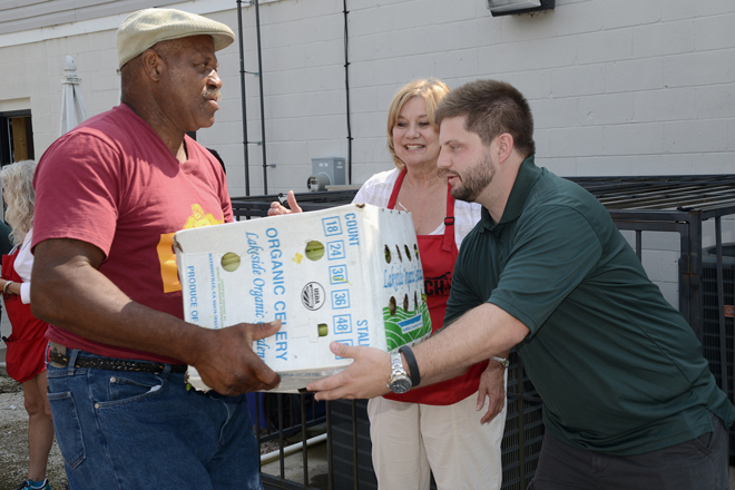 Produce Donation to Operation Inasmuch